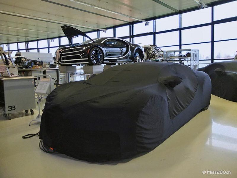 Atelier Bugatti à Molsheim