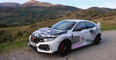 Honda Civic Type R Art Car Manga