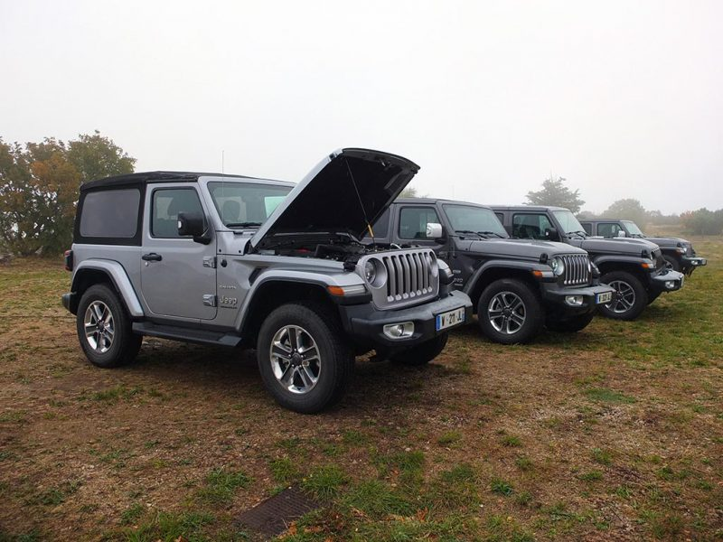 Jeep Wrangler 2018 - 2 et 4 portes