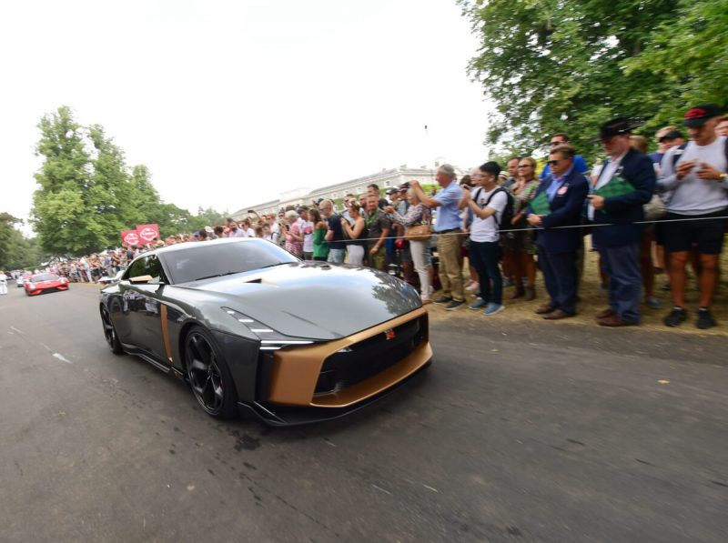 Nissan GT-R50 par Italdesign à Goodwood