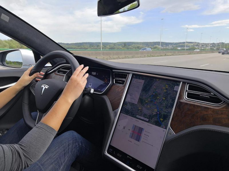 Essai Tesla Model S 100D