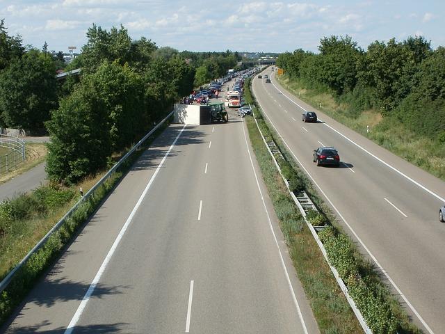 Accident route allemande