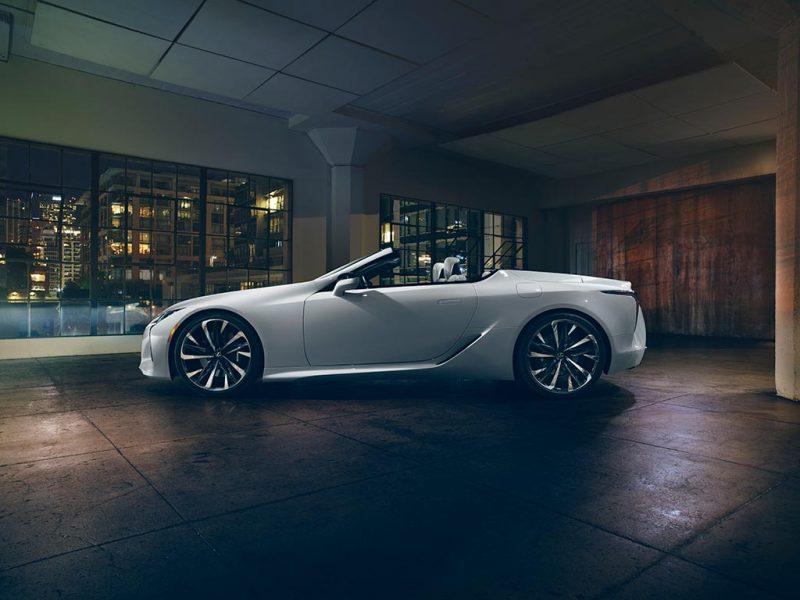 Concept Lexus LC Cabriolet