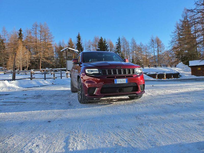 Jeep Grand Cherokee Trackhawk - essai décembre 2018