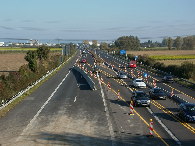 travaux autobahn