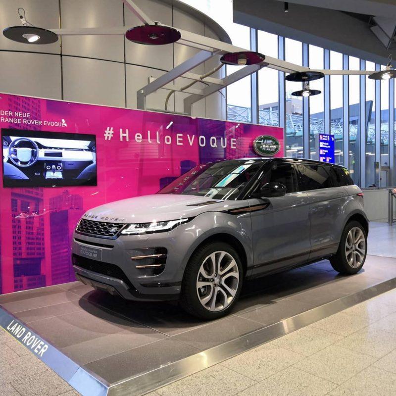 Range Rover Evoque 2019 - Aeroport Francfort