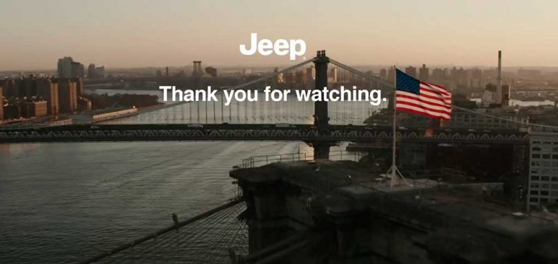Jeep commercial big game blitz superbowl 2019