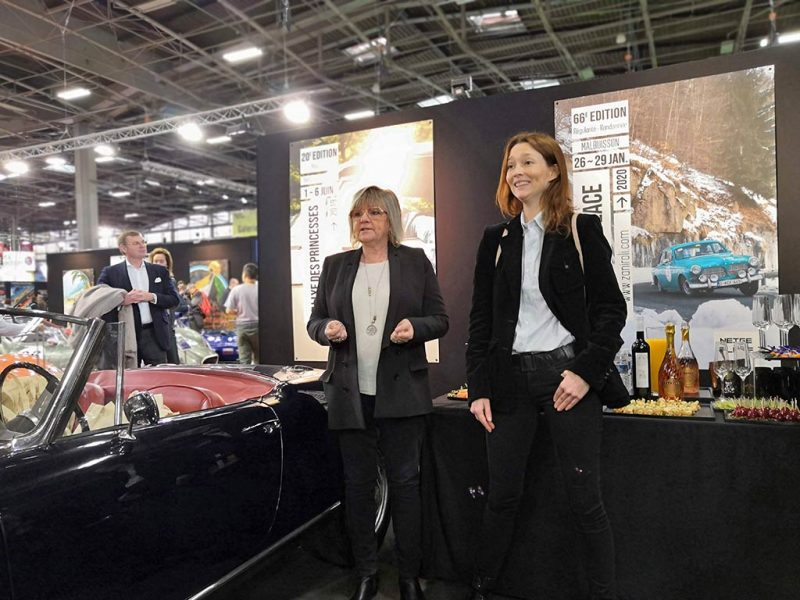 Rallye de princesses 2019 - retromobile