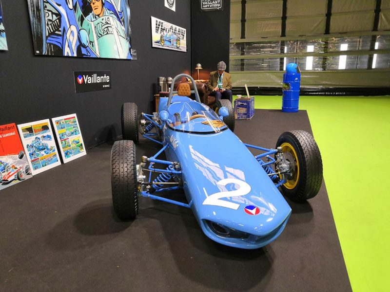 Retromobile 2019 - Vaillante by crosslé