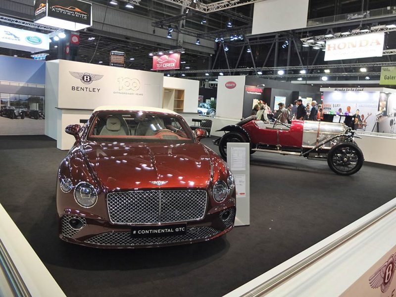 Rétromobile 2019 - stand Bentley
