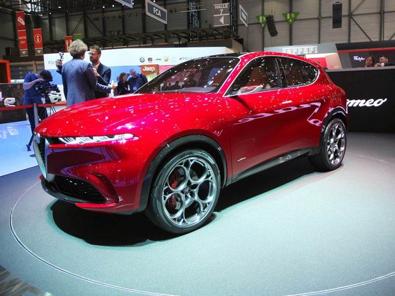 Alfa Romeo Concept Tonale - Genève 2019