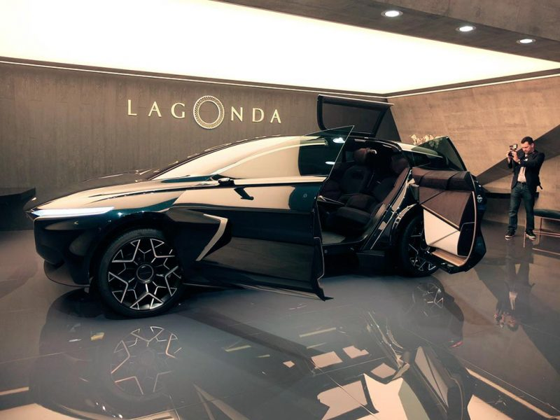 Aston Martin Lagonda All-Terrain concept - salon de Genève 2019
