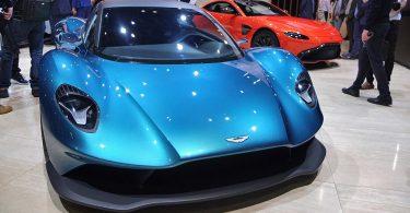 Aston Martin Vanquish vision concept - salon de Genève 2019