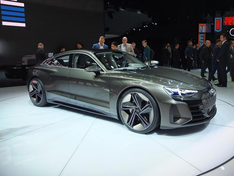 Audi e-tron GT concept - salon de Genève 2019