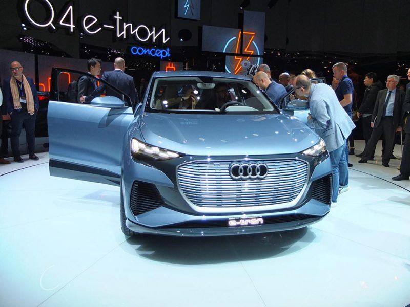 Audi Q4 e-tron concept - salon de Genève 2019
