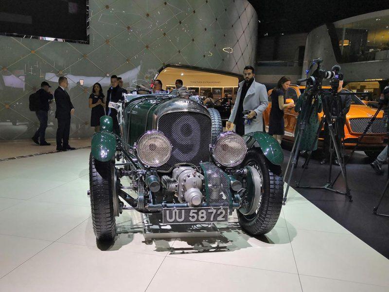 Bentley blower 1930 - salon de Genève 2019