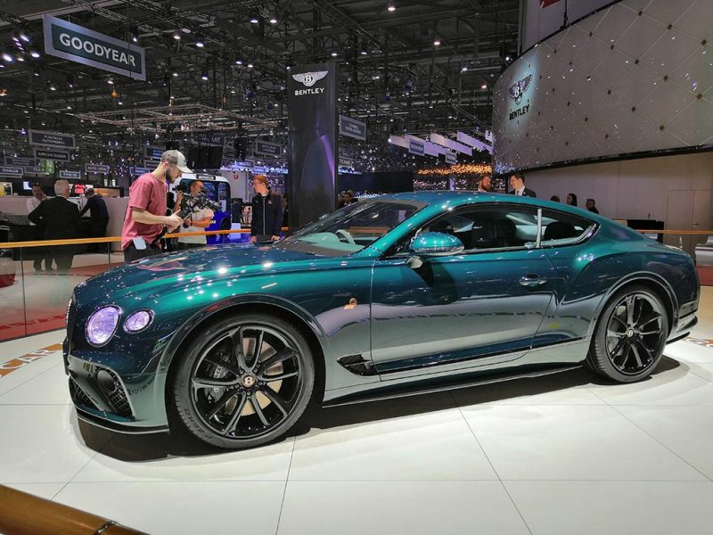 Bentley Continental GT number 9 edition - salon de Genève 2019