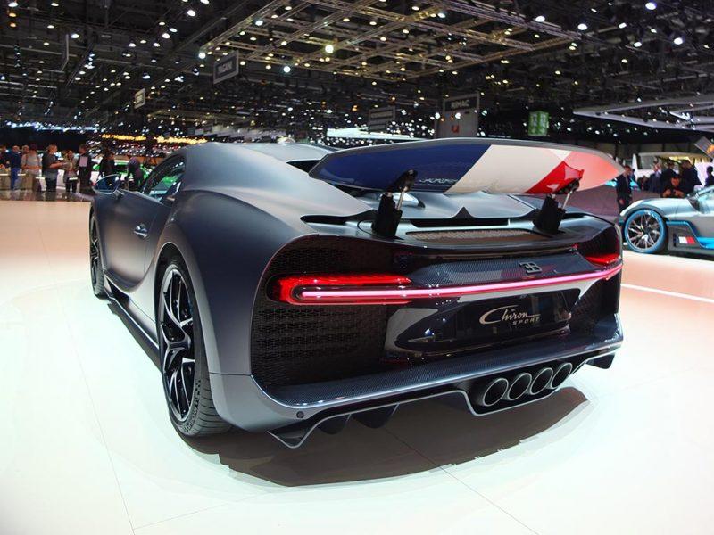 Bugatti Chiron Sport - salon de Genève 2019