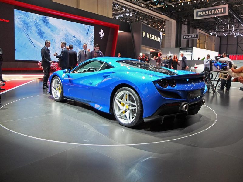 Ferrari F8 Tributo - salon de Genève 2019