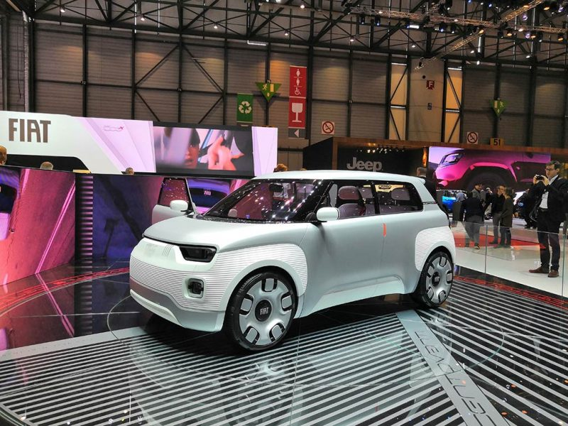 Fiat Concept Centoventi - Genève 2019