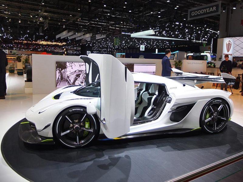 Koenigsegg Jesko - salon de Genève 2019