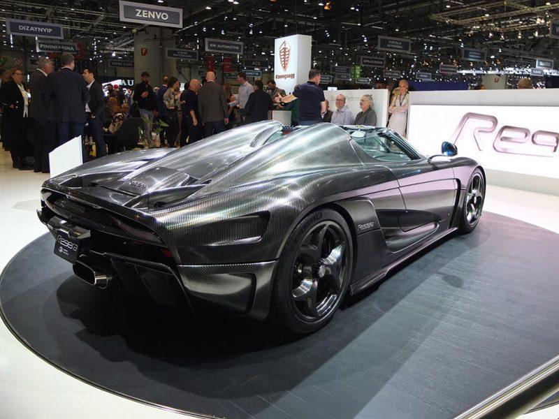 Koenigsegg Regera - salon de Genève 2019