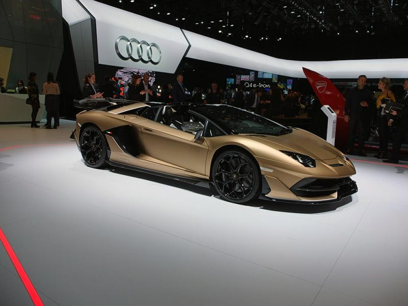 Lamborghini Aventador SVJ - salon de Genève 2019