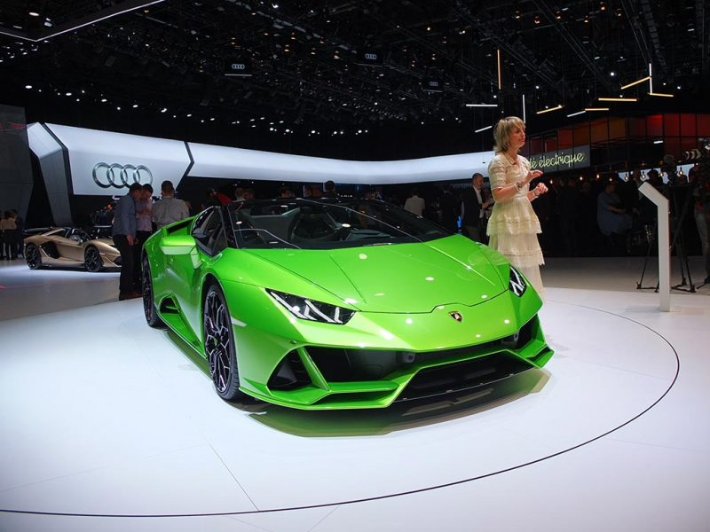 Lamborghini Huracan evo spyder - salon de Genève 2019