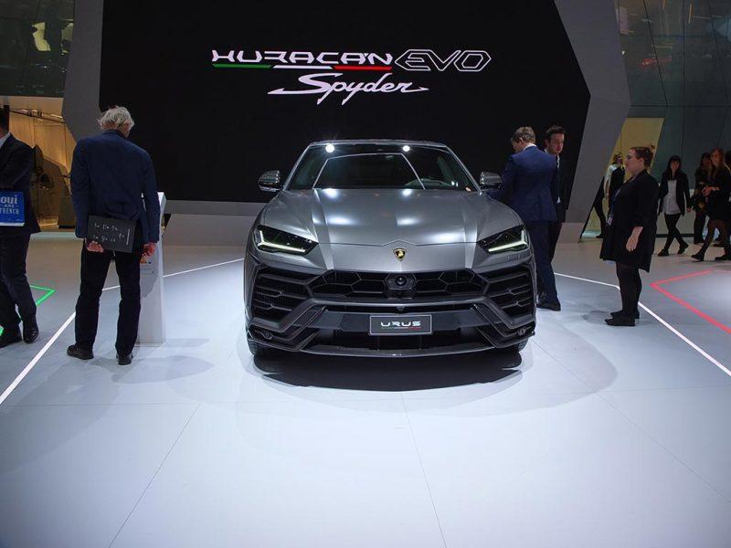 Lamborghini Urus - salon de Genève 2019