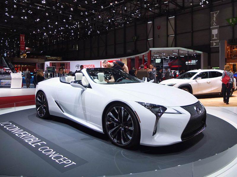 Lexus concept LC Convertible - salon de Genève 2019