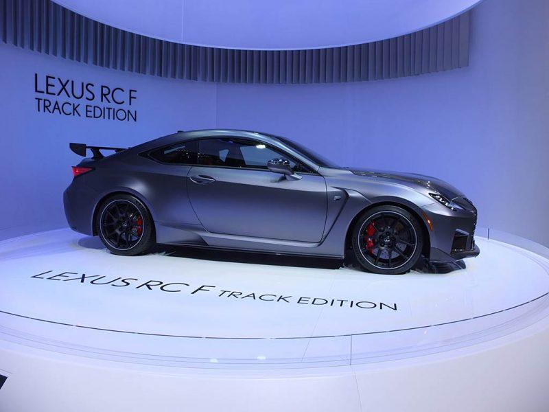 Lexus RC F Track Edition - salon de Genève 2019