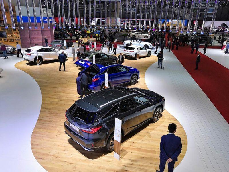Stand Lexus - salon de Genève 2019