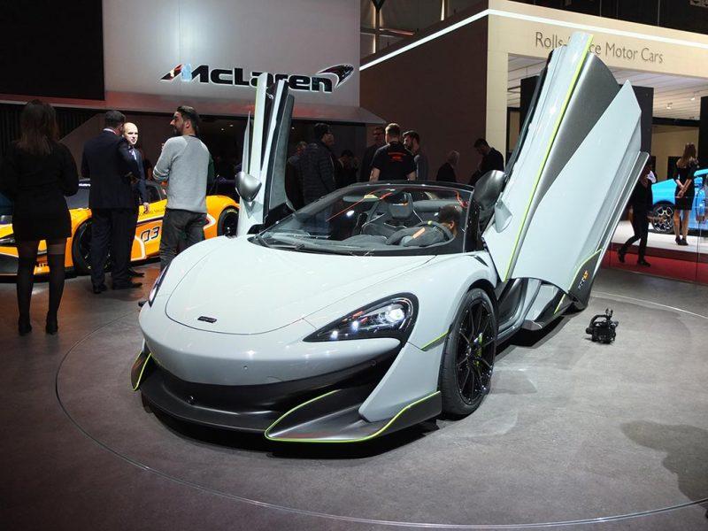 McLaren 600LT spider - salon de Genève 2019