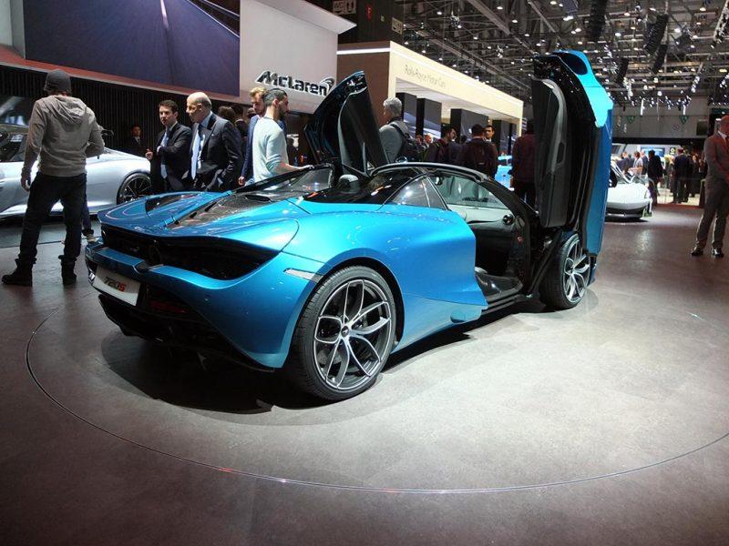 McLaren 720S spider - salon de Genève 2019