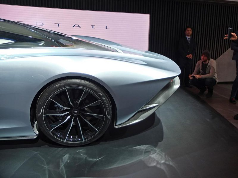 McLaren Speedtail - salon de Genève 2019