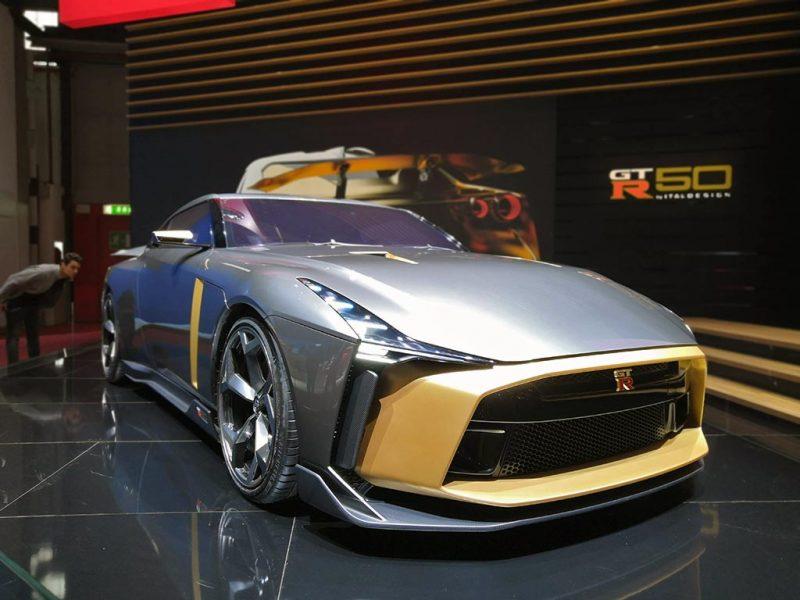 Nissan GTR50 italdesign - salon de Genève 2019