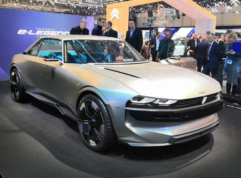 Concept Peugeot E-Legend - Geneve 2019