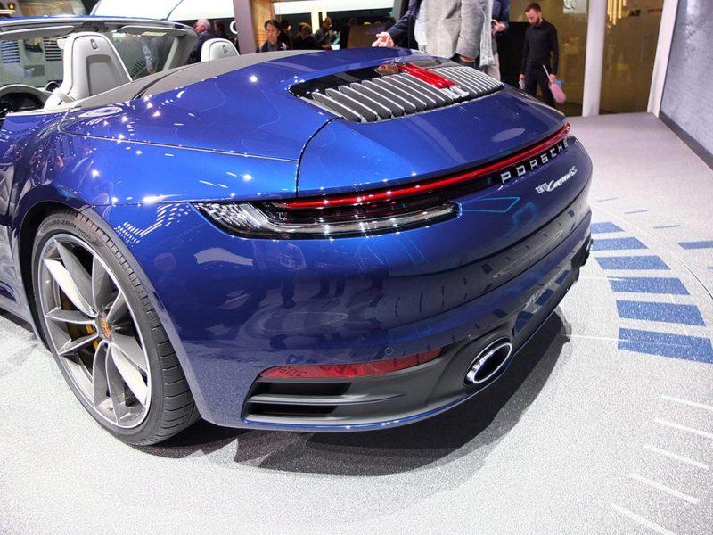 Porsche 911 cabriolet - salon de Genève 2019