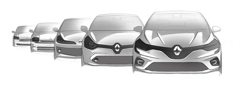 Evolution Renault Clio