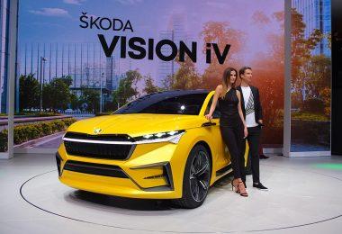 Skoda Vision iV concept - salon de Genève 2019