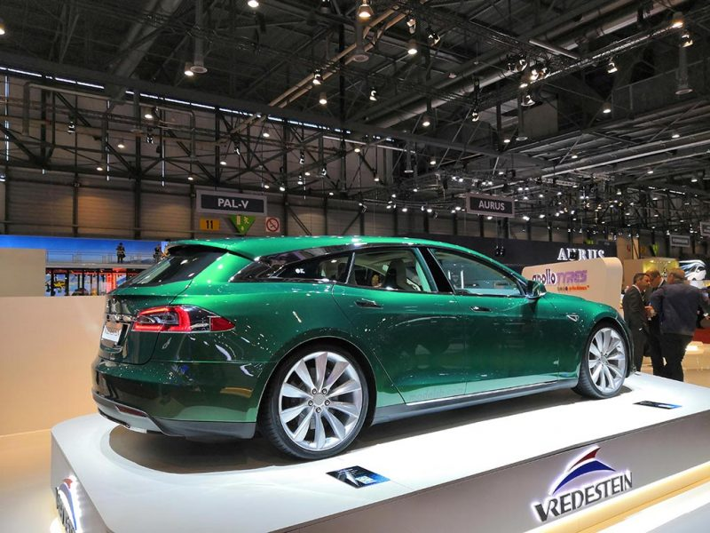 Tesla Model S break par Remetzcar - salon de genève 2019