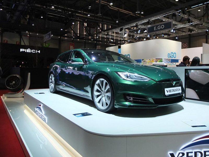 Tesla Model S break par Remetzcar - salon de genève 2019