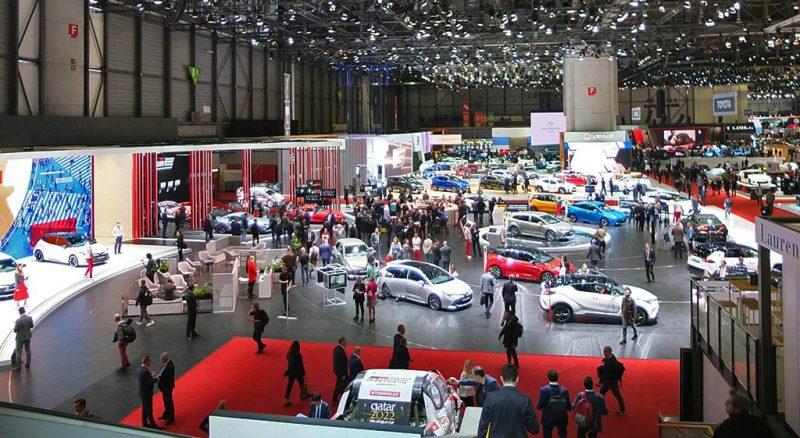 Stand Toyota - salon de Genève 2019