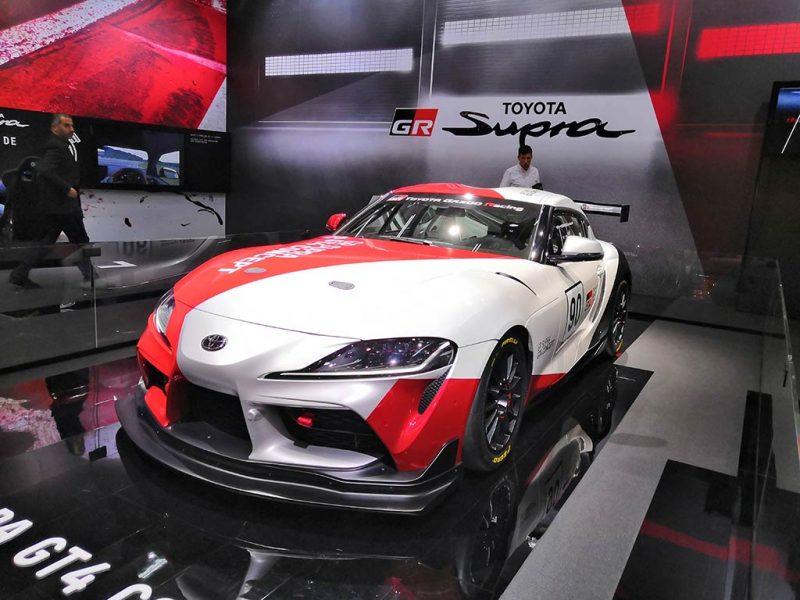 Toyota GR Supra GT4 - salon de Genève 2019