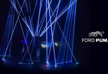 Teaser Ford Puma crossover hybride