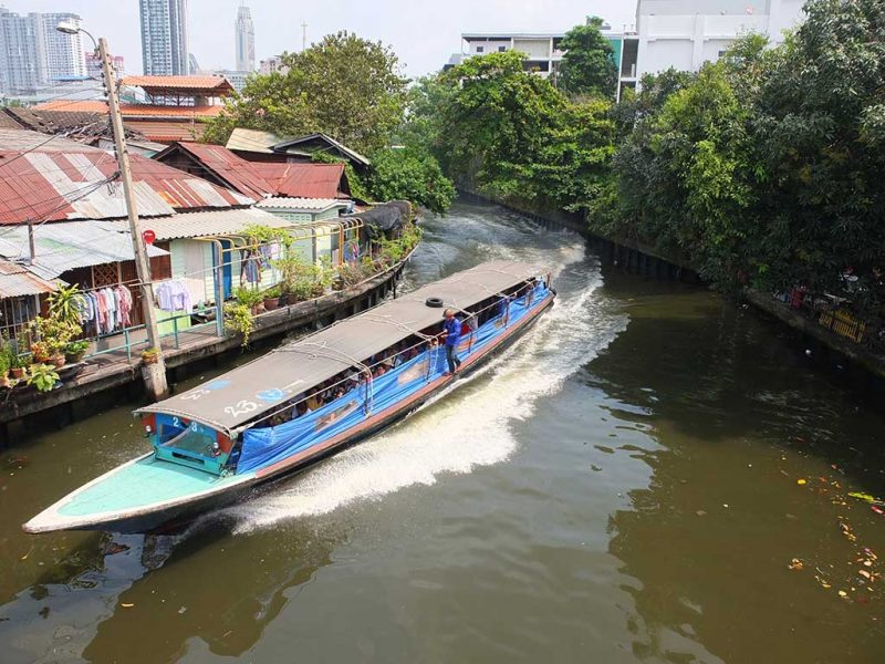 bangkok circulation khlong (bateau bus)
