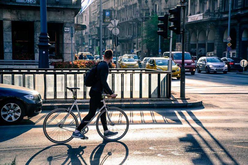 cohabitation vélo & auto en ville