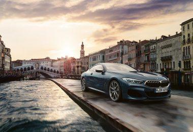 """Publicité BMW """"The 8"""" à Venise"""