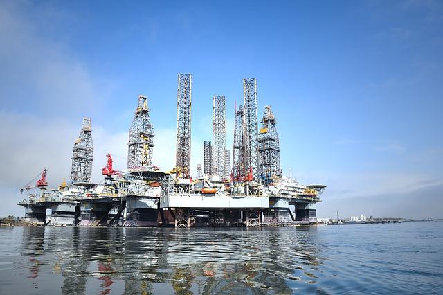 extraction plateforme pétrolière