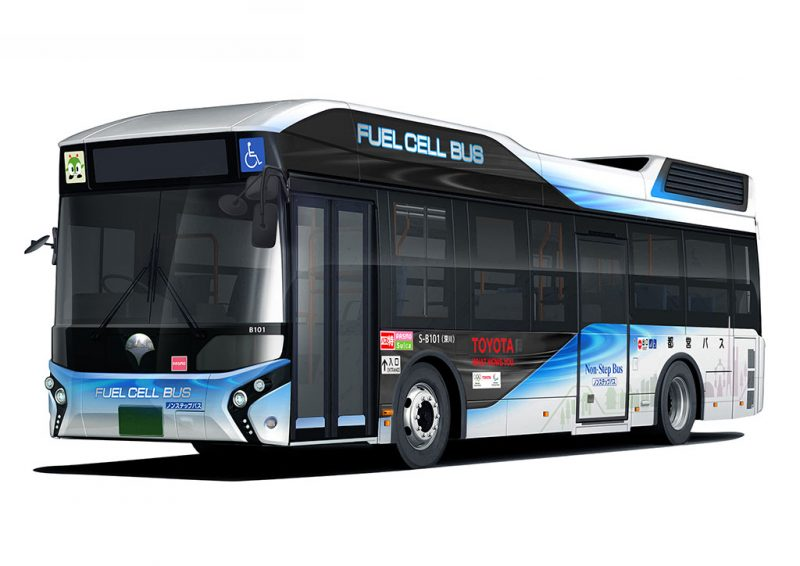 Toyota bus hydrogène